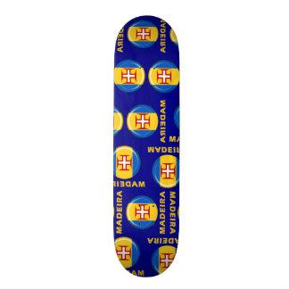 Madeira islands flag skateboard deck