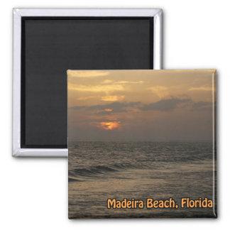 Madeira Sunset Magnet