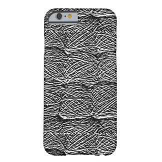 Madejas abstractas del personalizable del hilado funda para iPhone 6 barely there