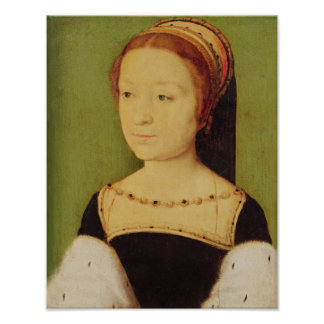 Madeleine de France  Queen of Scotland, 1536 Poster