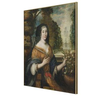 Madeleine de Scudery Canvas Print