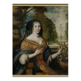 Madeleine de Scudery Postcard