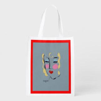 Madeleine estaba enojada para Matisse reutilizable Bolsa Reutilizable