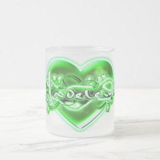 Madeleine Frosted Glass Coffee Mug