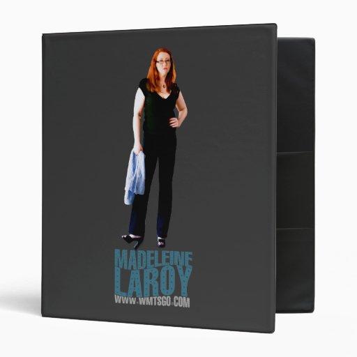 Madeleine LaRoy 3 Ring Binder