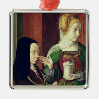 Madeleine of Bourgogne presented by St. Mary Magda Metal Ornament