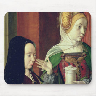 Madeleine of Bourgogne presented by St. Mary Magda Mouse Pad
