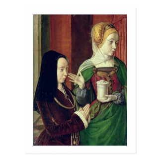 Madeleine of Bourgogne presented by St. Mary Magda Postcard