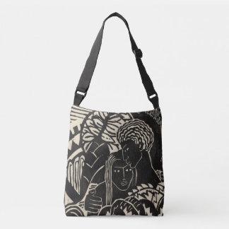 Madeleine St. Clair - Couple Embracing - Black Bag