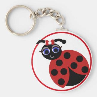 Madeleine Toon Lady Bug Keychain