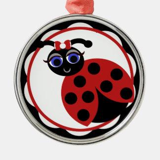 Madeleine Toon LadyBug Curves Ornament