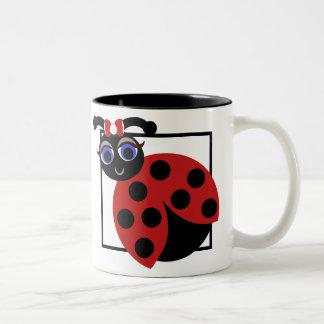 Madeleine Toon LadyBug with Bow  Mug
