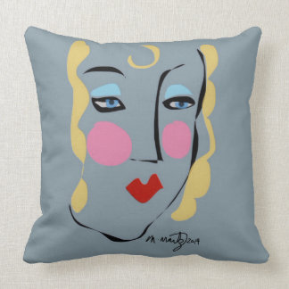 Madeleine Was Mad For Matisse Throw Pillow
