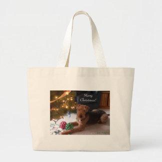 "Madeleine wishes you ""Merry Christmas!"" bag"