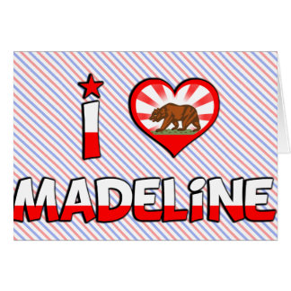 Madeline, CA Greeting Card