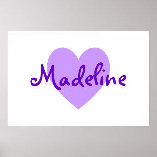 Madeline en púrpura poster