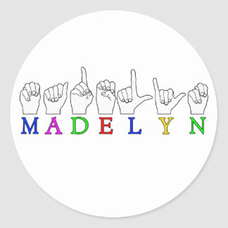 MADELYN STICKERS