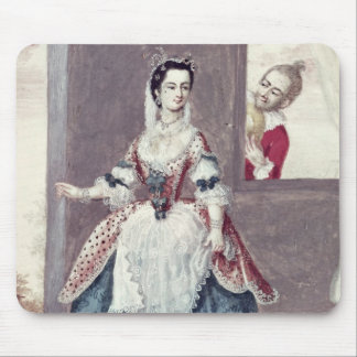 Mademoiselle Contat  in the Role of Suzanne Mouse Pad