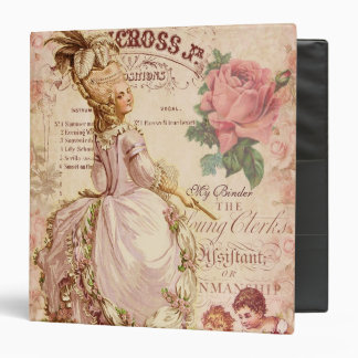 Mademoiselle Couture 3 Ring Binders