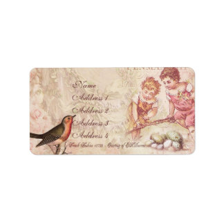 Mademoiselle Couture Address Label