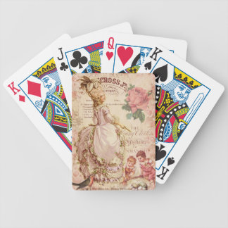 Mademoiselle Couture Bicycle Playing Cards