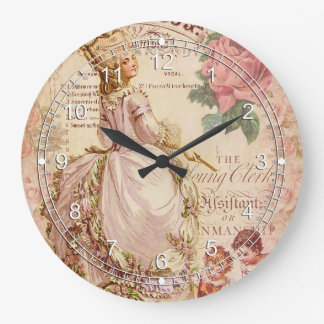 Mademoiselle Couture Wall Clocks