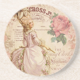 Mademoiselle Couture Beverage Coasters