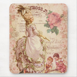 Mademoiselle Couture Mouse Pad