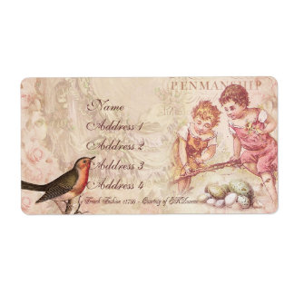Mademoiselle Couture Shipping Label