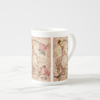 Mademoiselle Couture Porcelain Mugs