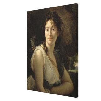 Mademoiselle Duchesnoy en el papel de Dido Lona Envuelta Para Galerias