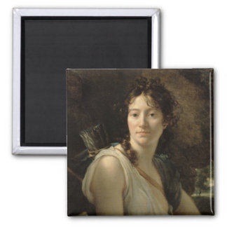 Mademoiselle Duchesnoy in the Role of Dido 2 Inch Square Magnet