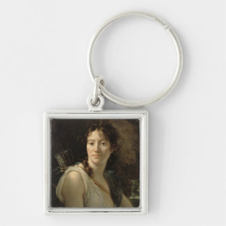 Mademoiselle Duchesnoy in the Role of Dido Keychain
