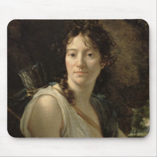 Mademoiselle Duchesnoy in the Role of Dido Mouse Pad