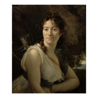 Mademoiselle Duchesnoy in the Role of Dido Poster