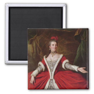 Mademoiselle Dumesnil 2 Inch Square Magnet