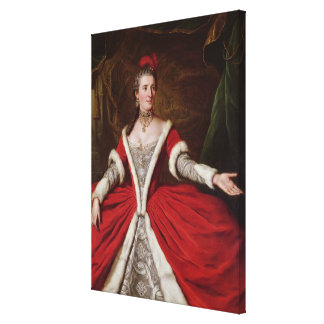 Mademoiselle Dumesnil Stretched Canvas Print