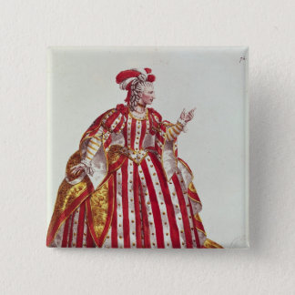 Mademoiselle Dumesnil  in the Role of Pinback Button