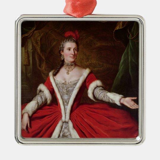Mademoiselle Dumesnil Metal Ornament