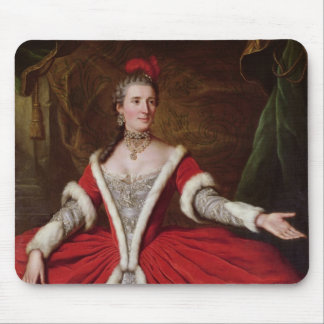 Mademoiselle Dumesnil Mouse Pads