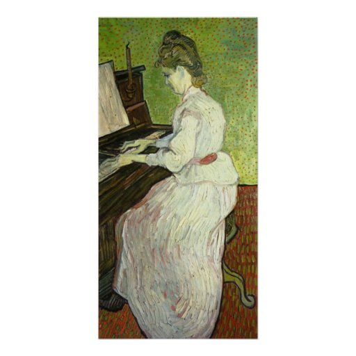 Mademoiselle Gachet at the Piano by van Gogh Posters