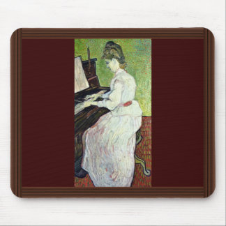 Mademoiselle Gachet At The Piano,  By Vincent Mouse Pads
