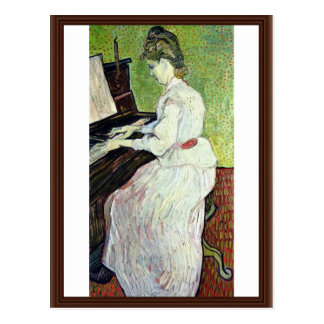 Mademoiselle Gachet At The Piano,  By Vincent Postcards