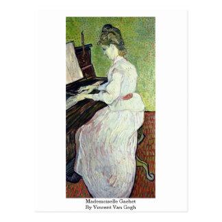 Mademoiselle Gachet By Vincent Van Gogh Postcard