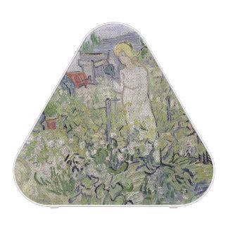 Mademoiselle Gachet in her garden Speaker
