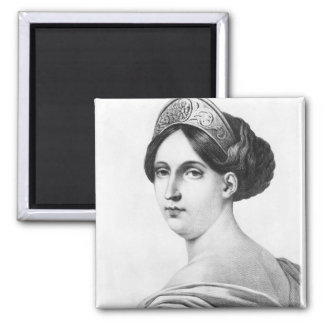 Mademoiselle George, 1825 2 Inch Square Magnet