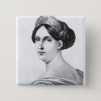 Mademoiselle George, 1825 Pinback Button
