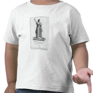 Mademoiselle George en el papel Camisetas