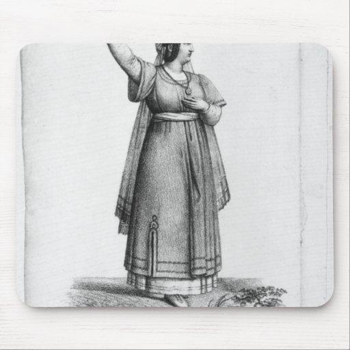 Mademoiselle George en el papel Tapete De Ratones