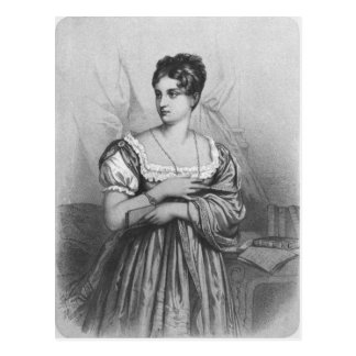 Mademoiselle George, engraved by J. Champagne Postcard